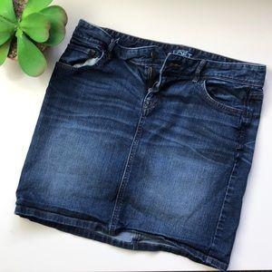 Loft Jean Skirt Size 4